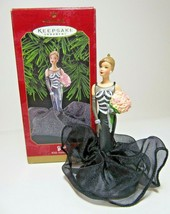 1999 40th Anniversary Barbie Collectors Hallmark Keepsake Christmas Orna... - $12.19