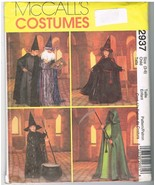 McCall's 29037 Witch and Wizard Costume Sewing Pattern - $9.95
