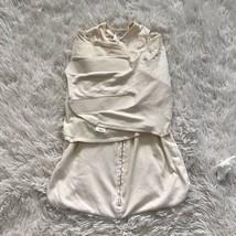 Halo Sleep Sack Swaddle Wearable Blanket Beige Baby NB Newborn 6-12lbs - $9.89