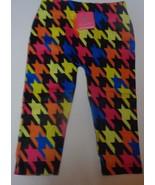 Youth Girls Leggings Geometrical Multi-Color NWT Beverly Hills Sz 2-4, 4-6 - $8.99