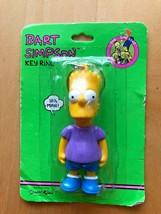 Bart Simpson Keyring Keychain 90's Vintage NIB - $12.86