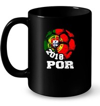 Portugal Team Soccer Russia Country Crest Ball 2018 Ceramic Mug - $13.99+