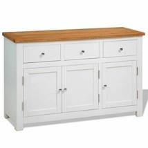 vidaXL Sideboard Oak Storage Console Cabinet Hall Table Highboard Cupboard - $165.99