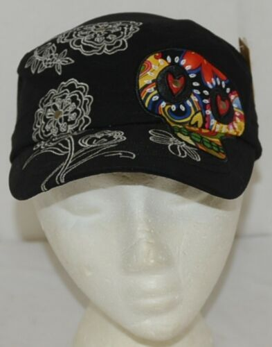 Karma Brand Decorative Womans Hat Black Live In The Moment
