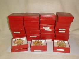 Hummel gold christmas ornament collection MIB 27 pcs 1988 - $75.00