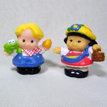 Fisher Price Little People SONYA LEE & EDDIE Horse Groom from Lil' Kingd... - $8.00