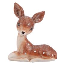 """Raz Imports 7"""" Vintage Laying Deer - $19.75"""