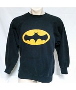 VTG Batman Sweatshirt 50/50 Crew Neck DC Comics Superhero Movie Televisi... - $49.99