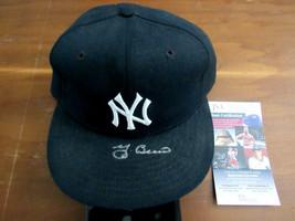 YOGI BERRA NEW YORK YANKEES HOF MVP SIGNED AUTO NEW ERA PRO MODEL CAP HA... - $296.99