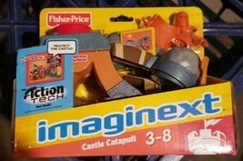 Fisher Price Imaginext Eagle Talon Castle catapult action tech weapon ne... - $89.99