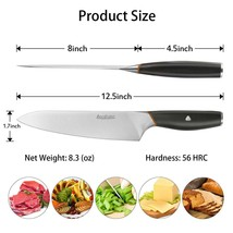 """Becozier Chef Knife,8"""" Professional and Home Kitchen German High Carbon ... - $24.75"""