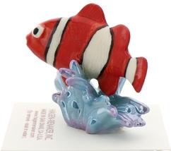 Hagen-Renaker Miniature Ceramic Fish Figurine Anemone Clownfish image 4