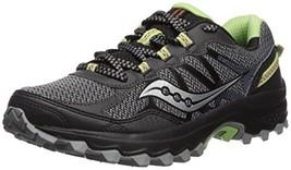 Saucony Women's Excursion TR11 Running Shoe, Black/Lime, 5 Medium US - $38.54