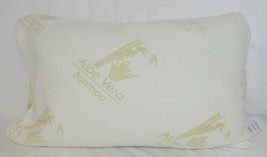 Unbranded B01BQR8Q Aloe Vera Bamboo Cover Shredded Memory Foam Pillow Queen Size image 1