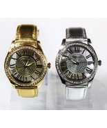 NEW Kenneth Cole 10031488 Silver / 10031486 Golden Band Glass Back Women... - $106.92+