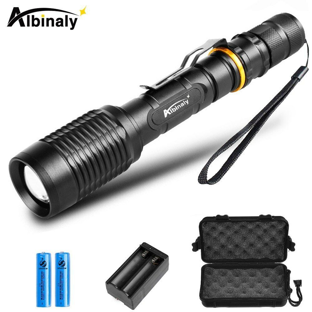Primary image for Albinaly® Ultra Bright LED Flashlight CREE XML-T6/L2 Led Flashlight Torch 5
