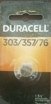 Duracell 1.5  Volt Silver Oxide Watch/Electronic Battery 303/357/76-SHIPS N 24HR - $7.72