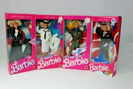 "NRFB Barbie Doll ""AIR FORCE"" Special Edition STARS 'n STRIPES 1990 Matte... - $105.95"