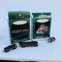 Hallmark Keepsake Ornaments Collector Series Lionel Locomotive Kiddie Ca... - $21.73