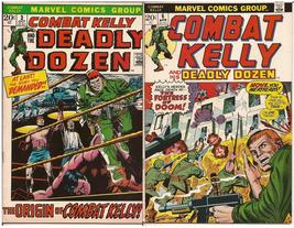 Marvel Combat Kelly Lot Issues #3 & 6 Fortress Of Doom Deadly Dozen War ... - $9.95