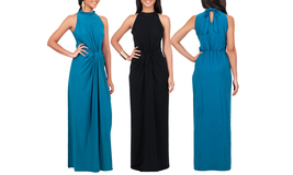 Women's Sleeveless Summer Vintage Tube Cocktail Gown Maxi Dress - $39.99