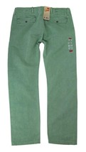 NEW NWT LEVI'S STRAUSS MEN'S ORIGINAL RELAXED FIT CHINO PANTS GREEN 556880005 image 2