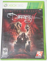 XBOX 360 - THE DARKNESS II - LIMITED EDITION (Complete with Manual) - $6.75