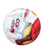 Alice in Wonderland Pinback Button: White Rabbit - $3.90