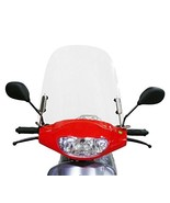 Scooter Windshield Transparent Acrylic 3mm Thick comes with mounting har... - $33.08