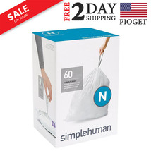 Simple Human Code N Strong Trash Bag 45-50L 12-13 Gal 3 Refill Packs 60 ... - $33.64