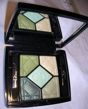 Christian Dior 5 Color Couleurs Designer Eye Shadow 434 PEACOCK NWOB - $58.41