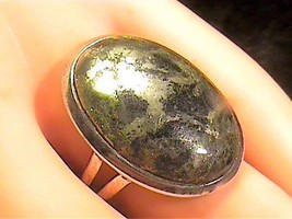 pyrite STERLING SILVER 925 RING 8 RARE NATURAL ELEGANT COMPLEX OLD NICE - $51.25