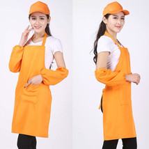 Girl Women's New Kitchen Apron Cooking Aprons Dress With Pocket Gift Hot... - $4.97