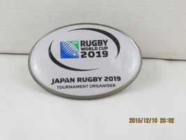 World Rugby Cup 2019 Pin - Japan Rugby Tournament Oragnizer - Rare  - $25.00
