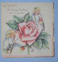 BIRTHDAY GREETING CARD SCRAPBOOKING VINTAGE 1947 - $9.99