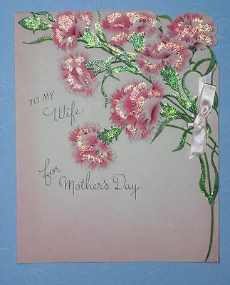 GIBSON MOTHER'S DAY GREETING CARD VINTAGE 1946
