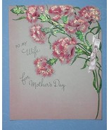 GIBSON MOTHER'S DAY GREETING CARD VINTAGE 1946 - $9.99