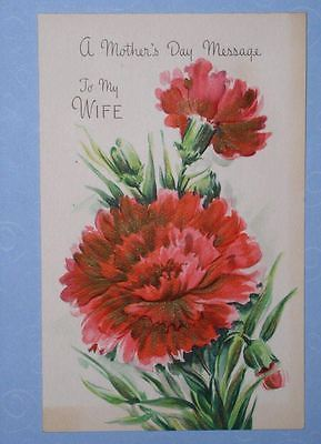 HALLMARK MOTHER'S DAY GREETING CARD VINTAGE 1948
