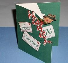 NORCROSS CHRISTMAS GREETING CARD VINTAGE 1940'S - $9.99