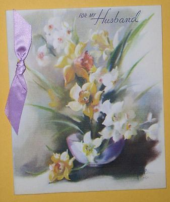 RUST CRAFT EASTER GREETING CARD VINTAGE 1947
