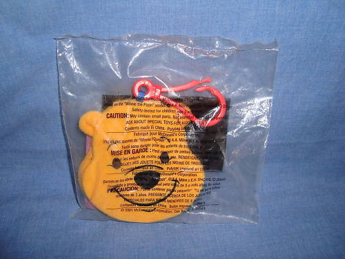 Mcdonalds pooh message pad