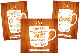 PERSONALIZED COFFE MADE FOR YOU MUG WOOD PANEL LOOK  KITCHEN SWITCH PLAT... - $9.25+
