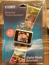 """Coby DP-151 1.5"""" Digital Picture Keychain Gold's Up To 60 Photos New & S... - $8.79"""