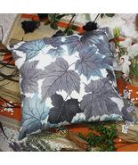 [Blue Maple Leaf]Decorative Cushion 23.6 by 23.6 inches - $39.99