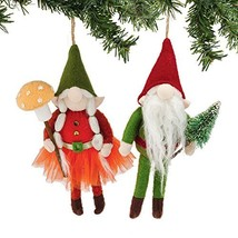 Department56 Gnome For The Holidays - Bendable Gnome Orn 2a