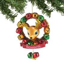 Department 56 Reindeer Tales Donder Wreath Ornament [Misc.]