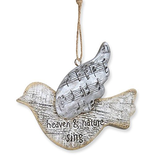 Enesco Reason to Rejoice Songbird-HeavnSing Ornament 3.625 IN [Misc.]