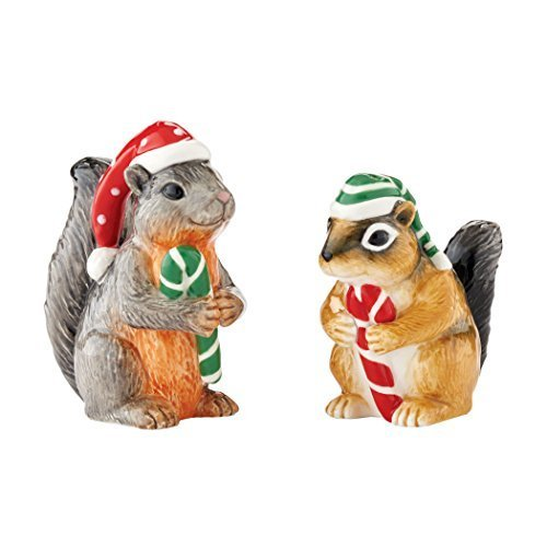 Department 56 Jennifer Parker Peace on Earth Critter Salt and Pepper Set [Misc.]