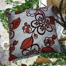 [Darkred Plum Blossom]Pillow Cushion 23.6 by 23.6 inches - $39.99