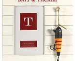 Bait and Tackle Fishing Photo Frame with Hanging Lures - for 4x6-in Photos (B...